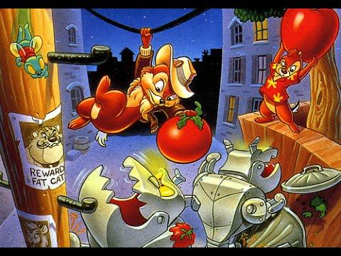 Денди - Чип и Дейл - (Chip n Dale - NES) Прохождение