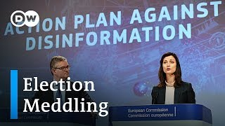 EU blames disinformation campaigns for low voter interest in elections | DW News