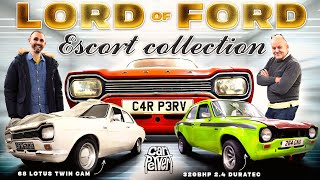 The Lord of Ford! 57 mk1 Escorts & counting // Jonny Smith