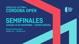 Semifinales - Mañana - Cervezas Victoria Córdoba Open 2019 - World Padel Tour