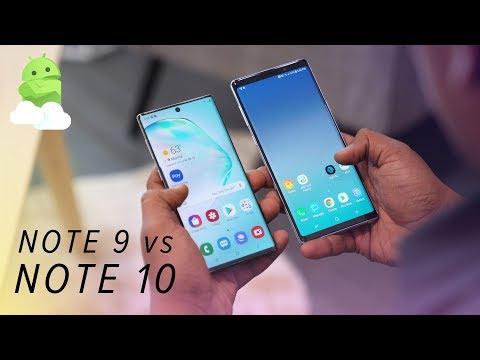 Samsung Galaxy Note 10 vs Galaxy Note 9: Worth the upgrade?