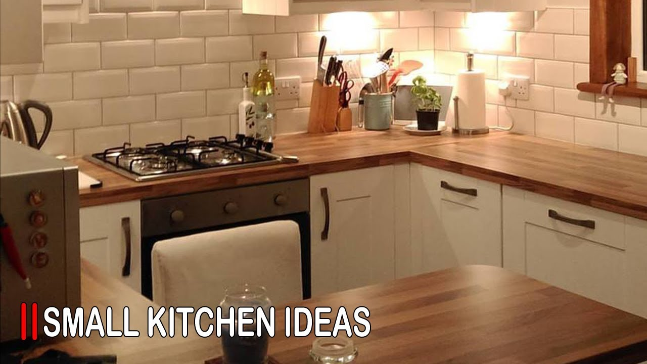 small kitchen design ideas for small space 2018 - youtube