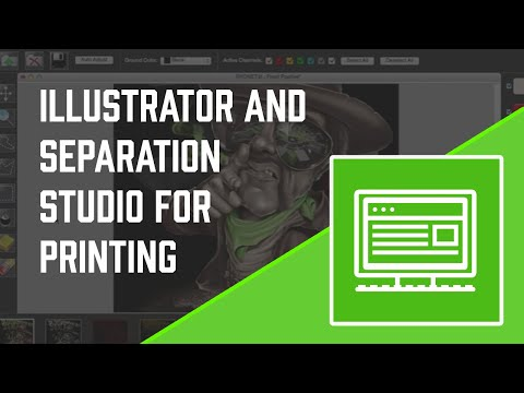 How To Use Adobe Illustrator and Separation Studio Software For Screen Printing