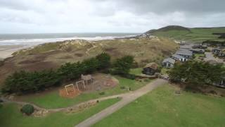 Ruda Holiday Park and Croyde Beach