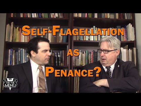 Self-Flagellation as Penance?