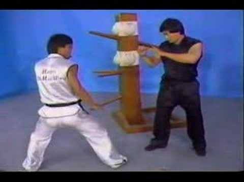 Wong Daatmau (Tat Mau Wong / 王达谋) - Wooden dummy techniques