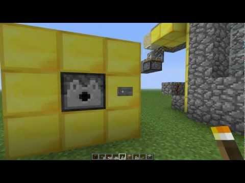 Minecraft - Dispensador Automático Con Activación Y Desactivación De Redstone