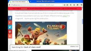Tutorial Download CoC Mod Apk