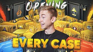 Opening every CS:GO case EVER! (2020)