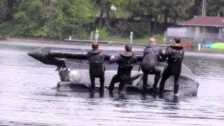 Army Special Forces - Zodiac Boat Training