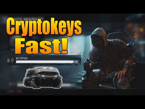 Fastest Way to Get Cryptokeys (How to get Cryptokeys Black Ops 3)