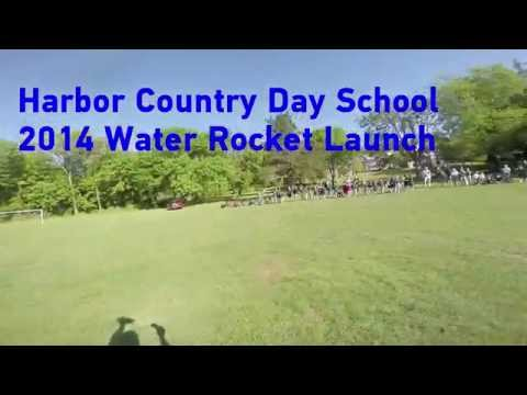 Harbor Country Day School 2014 Water Rocket Launch