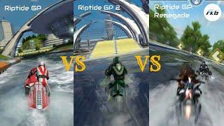 Riptide GP vs Riptide GP 2 vs Riptide GP: Renegade, (Gameplay). screenshot 5
