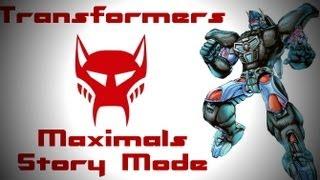 Transformers Beast Wars Transmetal- Maximals Story mode
