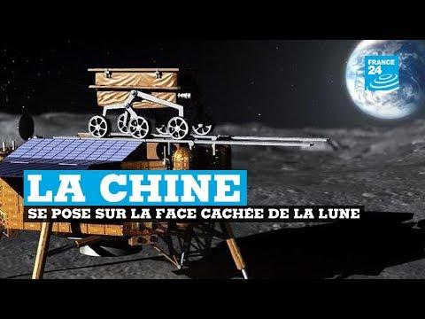 La Chine pose un engin spatial sur la face cachée de la Lune pour la première fois
