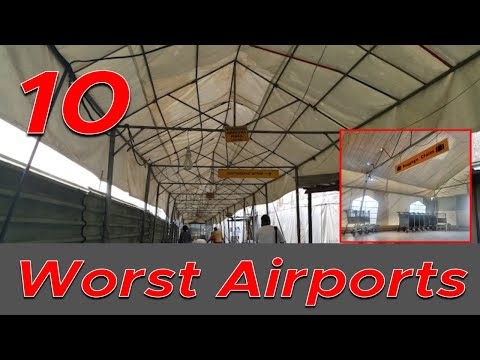 Top 10 Worst Airports In the World | 2020
