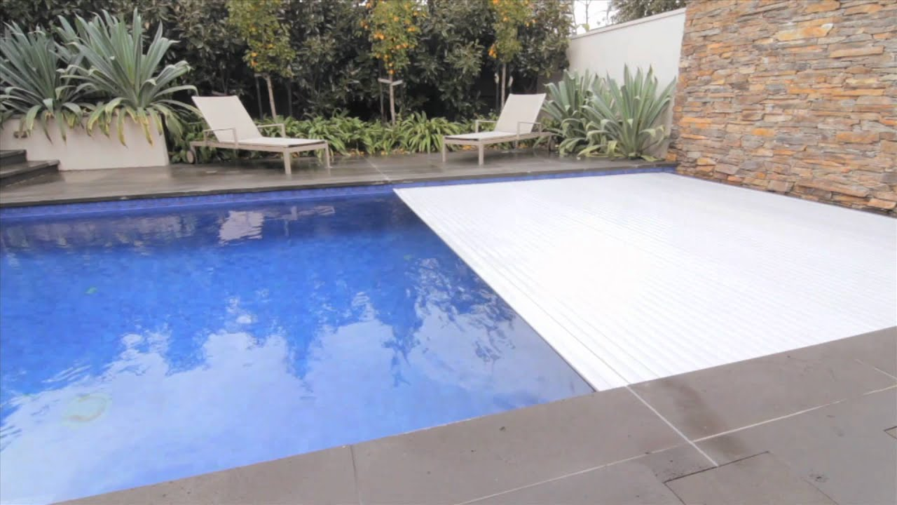 Remco Pool Covers Swimroll In Floor Automatic Pool Cover Youtube