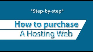 How To Buy A Web Hosting