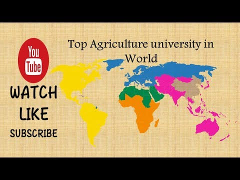 Top Agriculture University in World