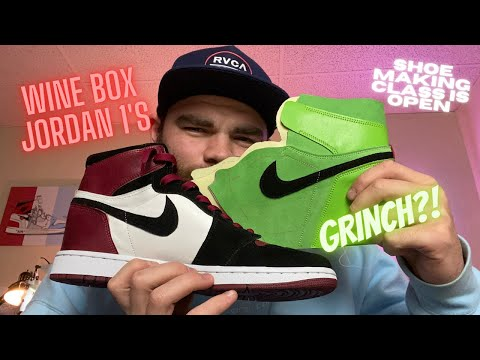 How to Make Christmas Jordan 1's (Online Shoe Making Course)