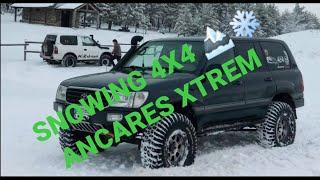 SNOW XTREM ANCARES OFF ROAD, ZUMBALACAZAN 4X4, AFICIONADOS 4X4 Y ASTUR XABACES 4X4 EN LA NIEVE 🏔️🏔