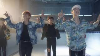"""The Fire mv but everytime it says """"bowowwow"""" yoongi says """"wow"""" and the pitch lowers"""