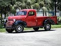 1942 Dodge WD 15 Firetruck For Sale Tampa Florida