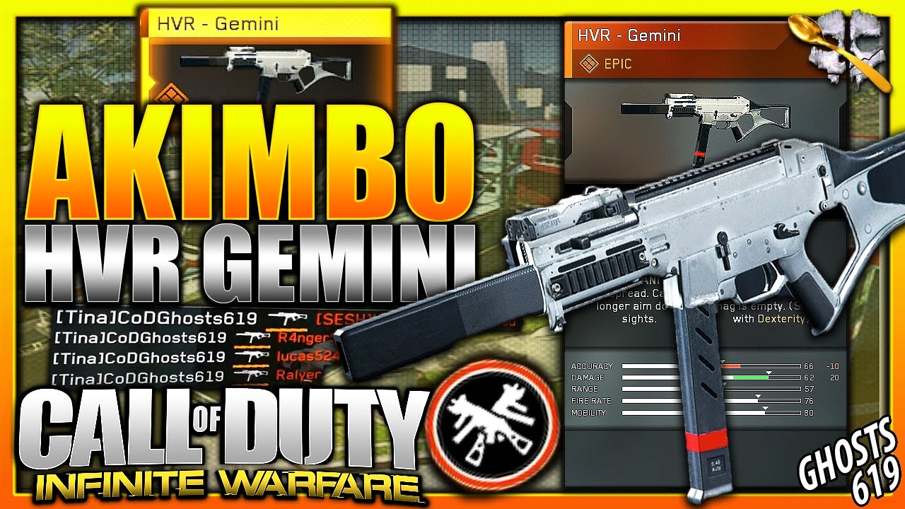 how to get akimbo weapons in infinite warfare
