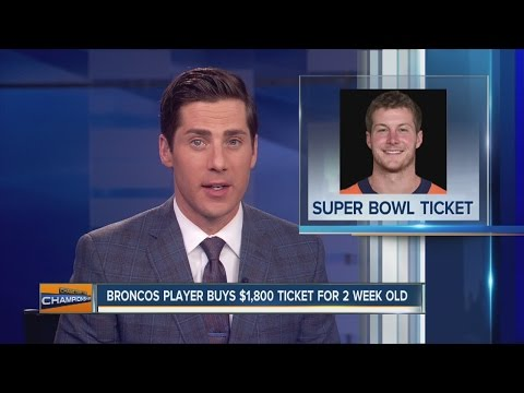 Brandon Colquitt had to buy Super Bowl ticket for infant daughter