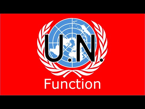 Function of the United Nations