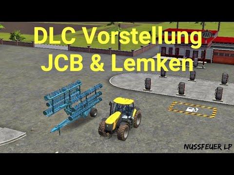 LS 16 DLC(Update) Vorstellung - Ein JCB Fastrac und ein Lemken Grubber