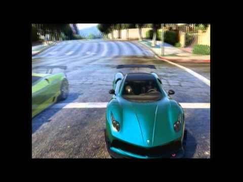 GTA 5 Custom Races: CeQuana's Super Spiral #5 & Epic Blue-Wall Stunt #2