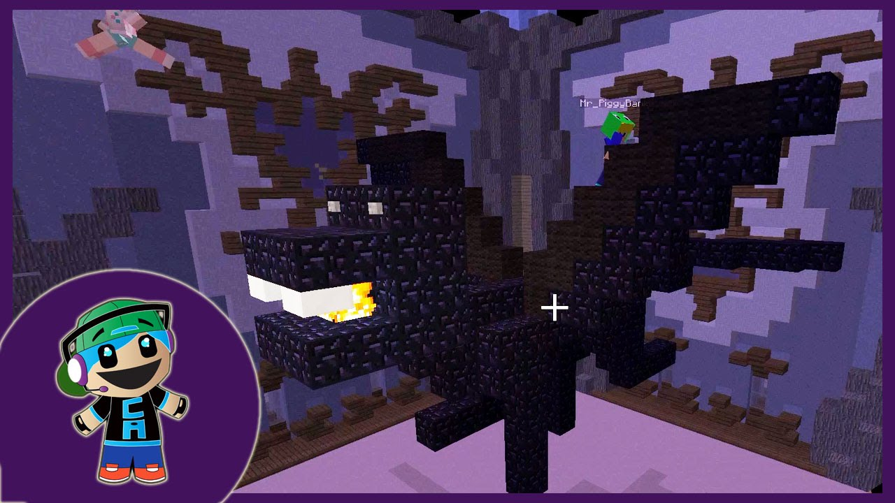 How To Build A Dragon In Minecraft Easy