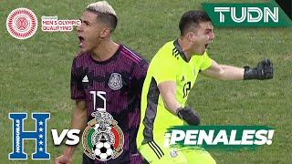 ¡Serie de penales!   Honduras 1(4)-(5)1 México   Final - Preolímpico 2021   TUDN