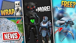 Fortnite News | Huge Leaks, Free Toy, Frozen Legends Extras, NFL Skins Return, Changes & MUCH MORE!
