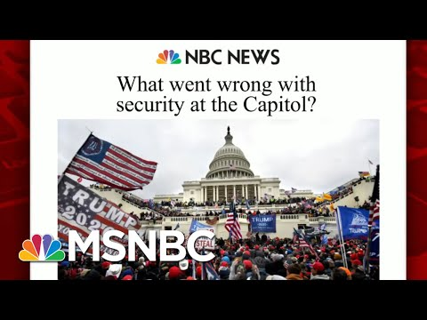 What Went Wrong With Security At The Capitol?   Morning Joe   MSNBC