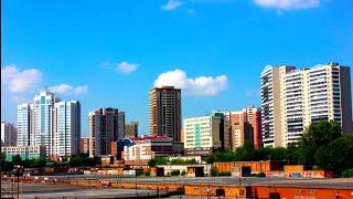 Novosibirsk High-Rises 2015 Высотки Новосибирска