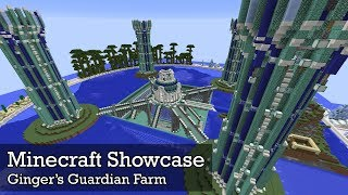 Minecraft Showcase: Ginger's Guardian Farm