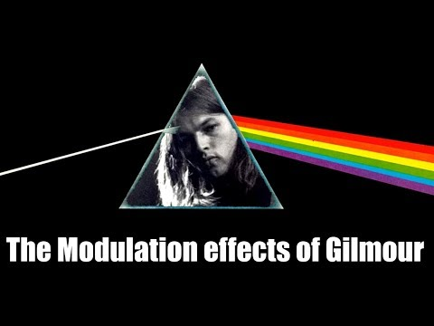 Pink Floyd:  Gilmour's use of modulation effects & the Leslie Rotating Speaker