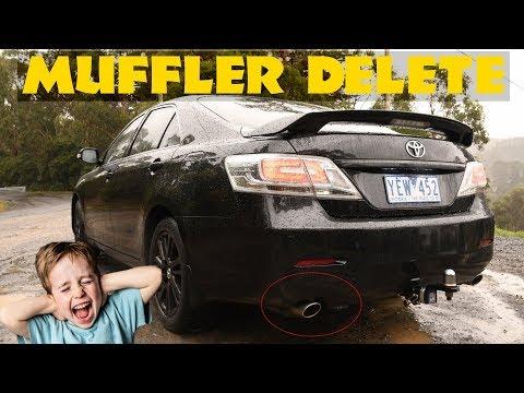 Muffler Delete 2010 Camry/Aurion 3.5L V6