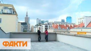 как делают фундамент для заборов в Польще