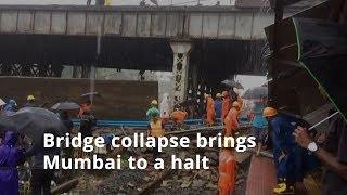 Andheri bridge collapse in Mumbai injures 5