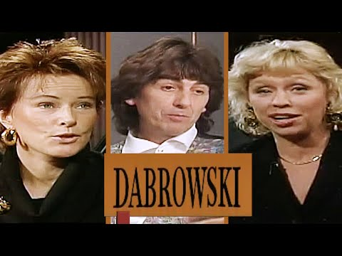 DABROWSKI med George Harrison, Anni-Frid Lyngstad m fl. från 1990