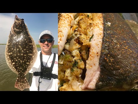 Debone And Stuff Your Next Flounder -- It's Easy!
