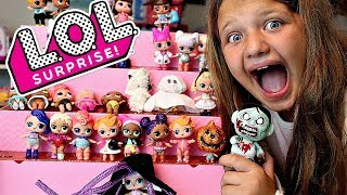 LOL SURPRISE DOLLS Halloween Costumes DIY For LOL Dolls and LOL LiL Sisters!