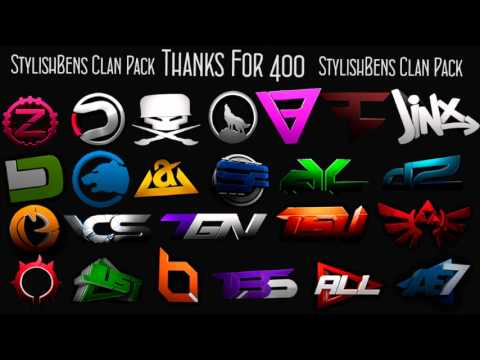 Clan logo Pack. Thanks for 400!