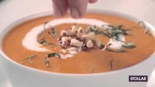 Тайский пряный суп из мускатной тыквы