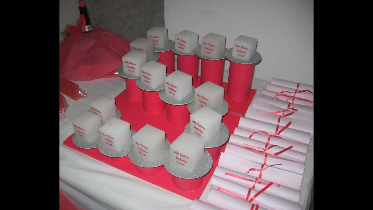 Soporte para velas ceremonia 15 a os youtube - Soportes para velas ...