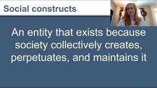 CCJ4934 Terrorism Race, Ethnicity, Social Contructs