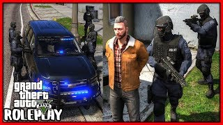 GTA 5 Roleplay - S.W.A.T POLICE RAID MY HOUSE   RedlineRP #654